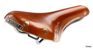 Brooks - Chrome Honey Saddle