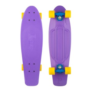 Penny - Purple Yellow Skateboard