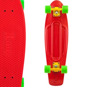 Penny - Red Green Skateboard