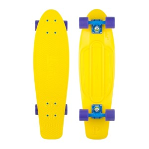 Penny - Yellow Purple Skateboard