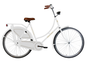 White Dutch Grandma Bike