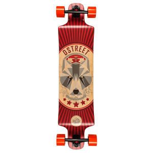 D‑Street Drop Down Bear Longboard