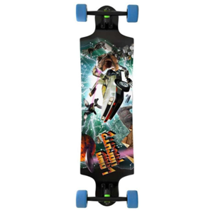 Landyachtz Freeride Time Machine Complete Longboard Black