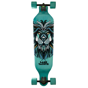Landyachtz Freeride Complete Longboard- Turquois