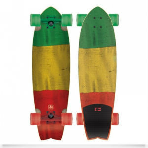 Globe Chromantic Rasta Flag Complete Cruiser