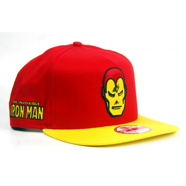 New Era Iron Man Cap