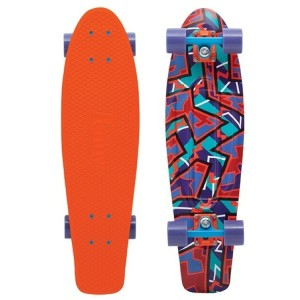 Penny Fresh Prints Nickel Complete Skateboard Spike 27
