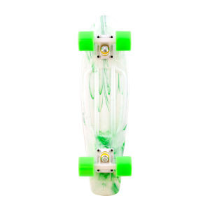 Penny Marbles Skateboard White Green
