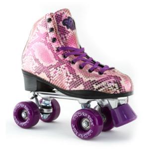 Rio Roller Chic Quad Skates - Snake Purple
