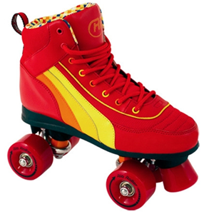 Rio Roller Red SFR Quad Skate