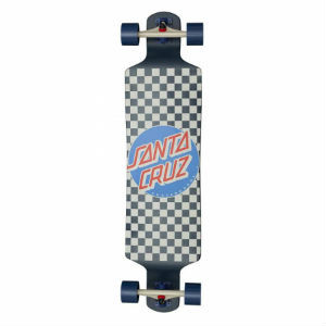 Santa Cruz Drop Down Check Longboard