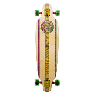 Santa Cruz Drop Thru Rasta Longboard