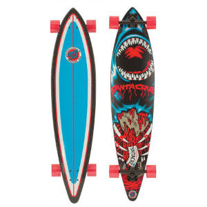 Santa Cruz Retro Shark Pintail Longboard