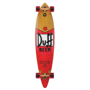 Santa Cruz x The Simpsons Duff Pintail Cruzer