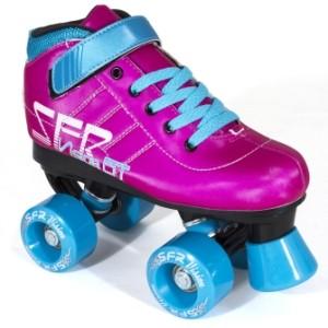 Vision GT Pink Blue SFR Quad Skates