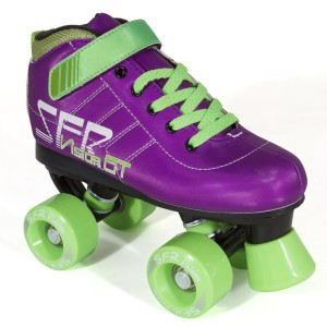 Vision GT Purple Green SFR Quad Skate