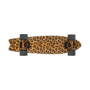 globe bantam graphic plastic cruiserboard leopard