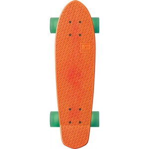 globe bantam plastic cruiserboard orange blue