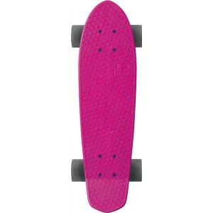 globe cruiserboards pink raw clear black