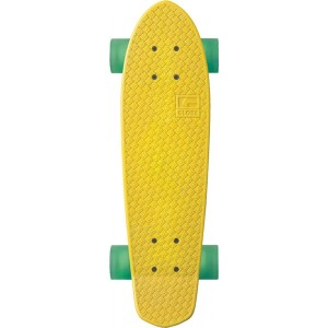 globe bantam plastic cruiserboard raw yellow
