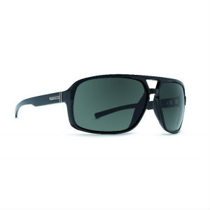 Von Zipper Decco Sunglasses - Black Gloss Grey