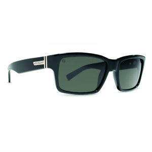 Von Zipper Fulton Sunglasses - Black Gloss Meloptix Grey
