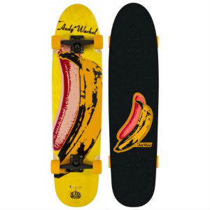 AWS Alien Workshop Andy Warhol Longboard
