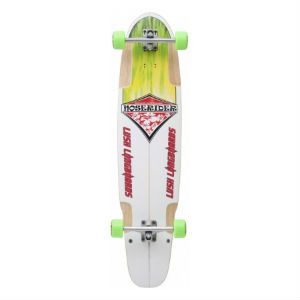 Lush Complete Longboard skin dog Noserider