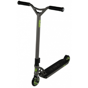 MGP VX4 Extreme Complete Scooter  Gun Grey Lime Green