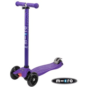 Maxi Micro T-Bar Scooter Anodized Purple
