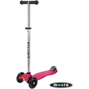 Maxi Micro T-Bar Scooter Raspberry