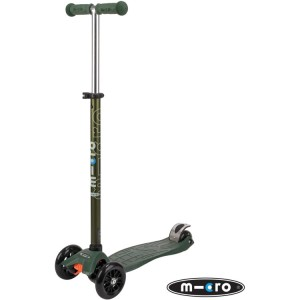 Maxi Micro T-Bar Special Edition Scooter Camo Green