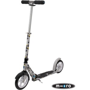 Micro Adult's Scooter Floral Grey