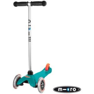 Mini Micro T-Bar Scooter Aqua