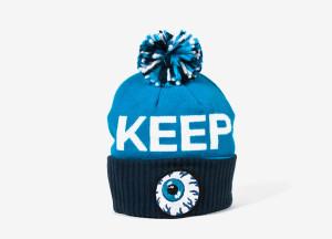 Keep watch Mishka beanie Blue