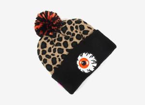 Keep watch Mishka beanie Leopard Beige