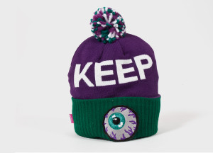 Keep watch Mishka beanie Purple