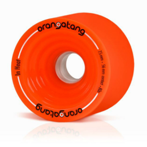 Orangatang In Heat 75mm Longboard Wheels