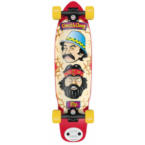 Flip Skateboards Cheech And Chong Shred Sled Cruzer