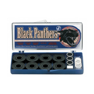Shorty's Black Panther Bearings - Abec 5