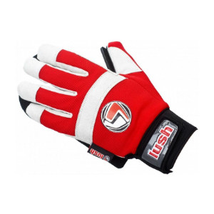 Lush Freeride Slide Gloves Red