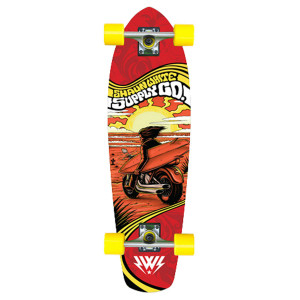 Shaun White Supply Co. Cabo Cruiser Longboard