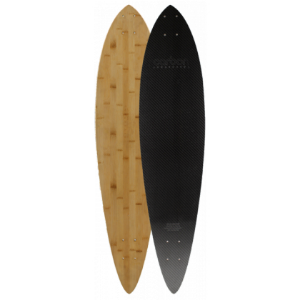 Carbon Skateboards Longboards Pintail