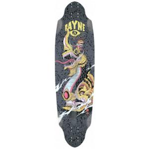Rayne Longboard Deck Avenger Black