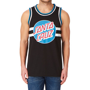 Santa Cruz Classic Dot Basketball Vest