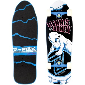 Z-Flex 80's Animal Series Agnew 'Polar Bear' Complete Skateboard