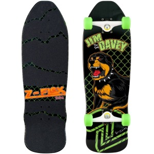 Z-Flex 80's Animal Series Davey 'The Dog' Complete Skateboard