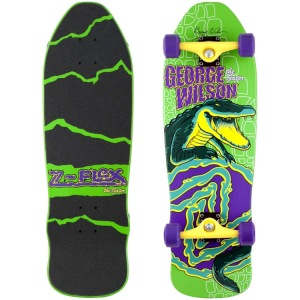 Z-Flex 80's Animal Series Wilson 'The Gator' Complete Skateboard