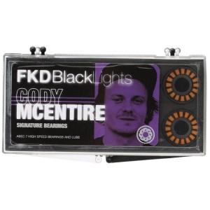 FKD Blacklight Skateboard Bearings Cody McEntire
