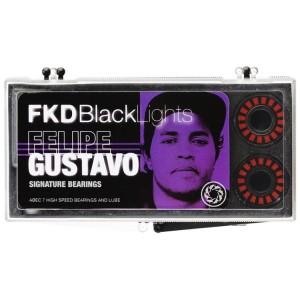 FKD Blacklight Skateboard Bearings Felipe Gustavo